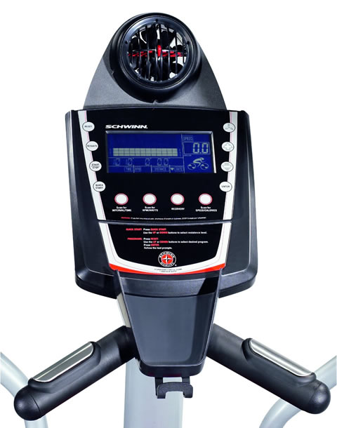 Schwinn 431 Elliptical trainer consol