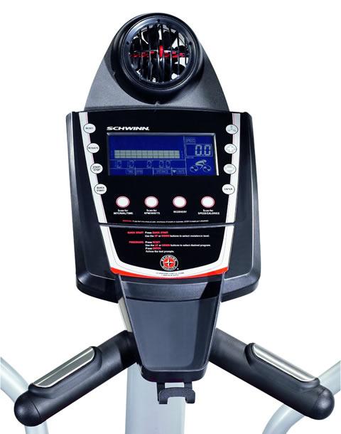 Schwinn 431 Elliptical trainer consol