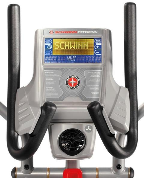 Schwinn 460 elliptical consol
