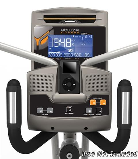 Yowza Pompano elliptical trainer consol