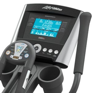 life fitness ellipical console