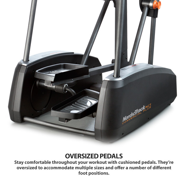nordictrack act elliptical pedal