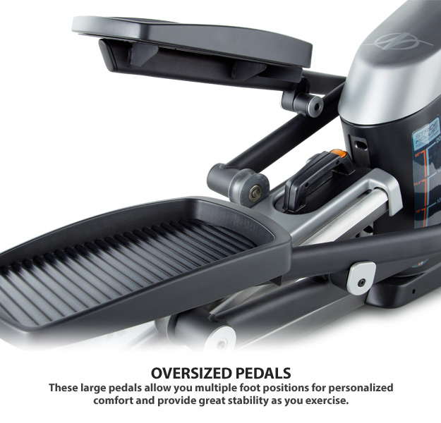 nordictrack e5.7 elliptical pedals
