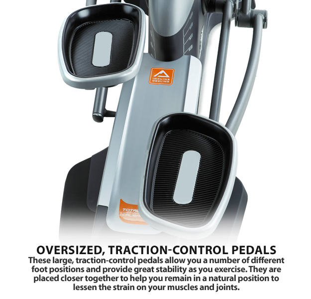 nordictrack elite 12.0 elliptical pedal