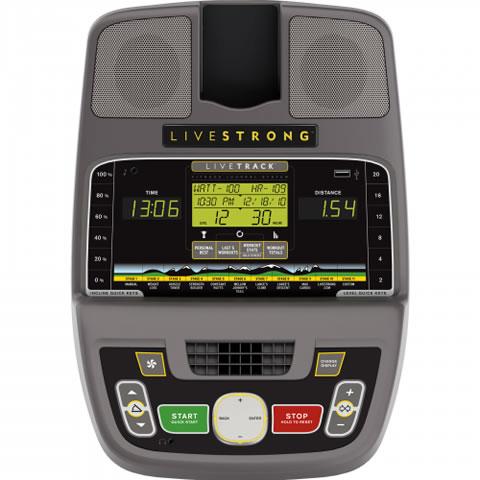Livestrong LS10.0E elliptical trainer consol